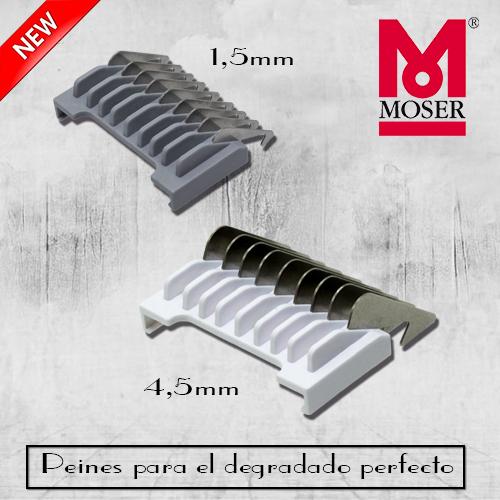 Peines metálicos intermedios MOSER para degradados - Wahl Spain 56a1b67e1533