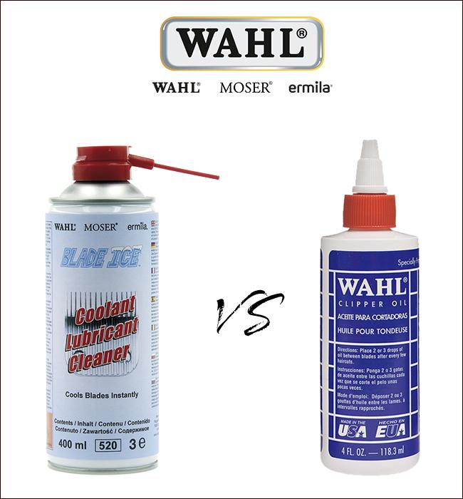 Mantenimiento máquinas WAHL con Blade Ice y Aceite WAHL - Wahl Spain 913d81c1db91